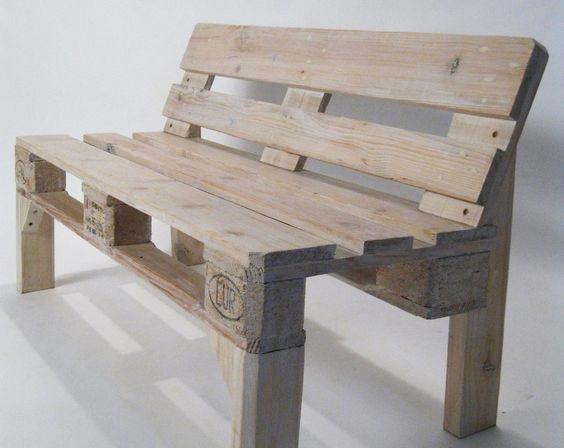 30 Diseños de muebles de palets para tu jardín 13