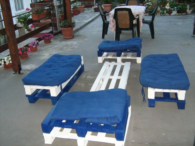 30 Diseños de muebles de palets para tu jardín 15