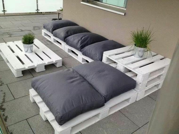 30 Diseños de muebles de palets para tu jardín 17