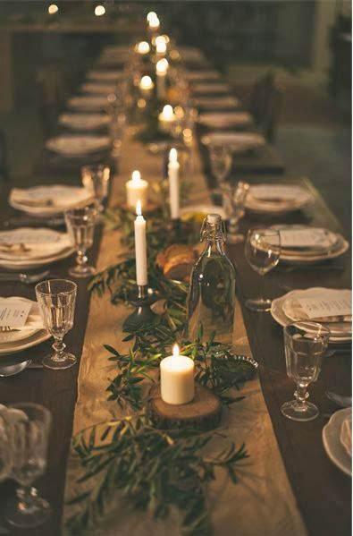 Centros de mesa navideño con piñas preciosos 6