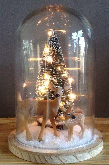 Centros de mesa navideño con piñas preciosos 32
