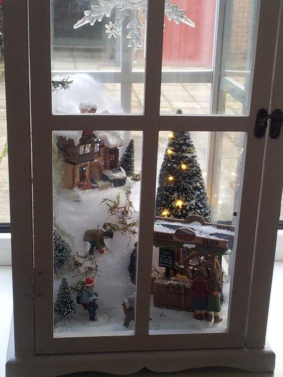 Centros de mesa navideño con piñas preciosos 34