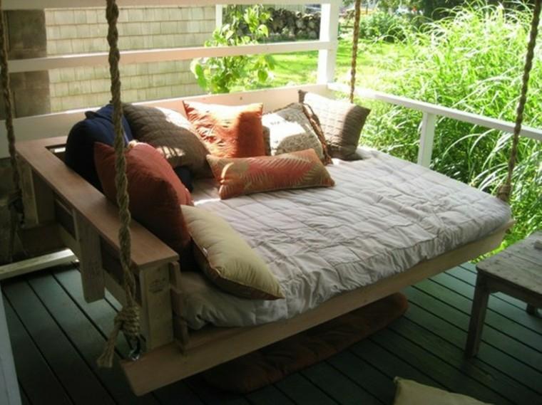 30 Diseños de muebles de palets para tu jardín 33