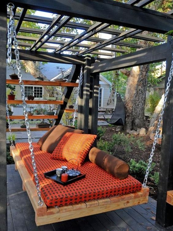 30 Diseños de muebles de palets para tu jardín 34