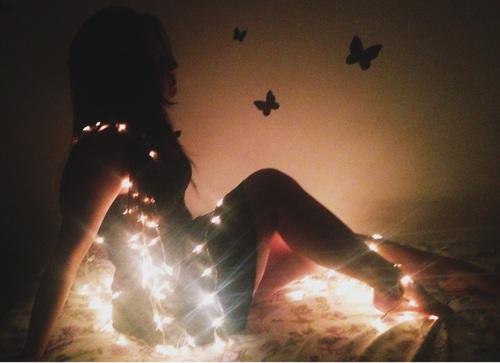 20 Ideas para tomar fotos únicas con luces de navidad 2