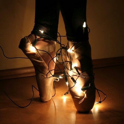 20 Ideas para tomar fotos únicas con luces de navidad 11