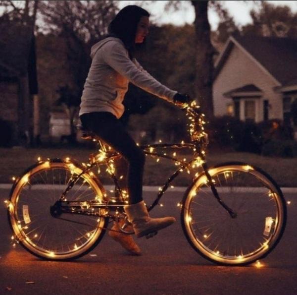 20 Ideas para tomar fotos únicas con luces de navidad 12
