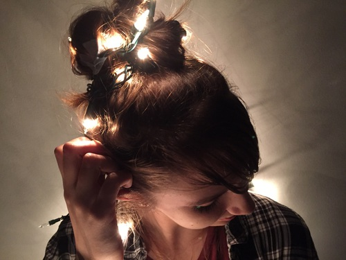 20 Ideas para tomar fotos únicas con luces de navidad 14