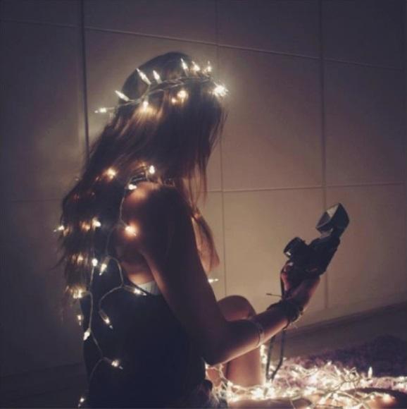 20 Ideas para tomar fotos únicas con luces de navidad 15