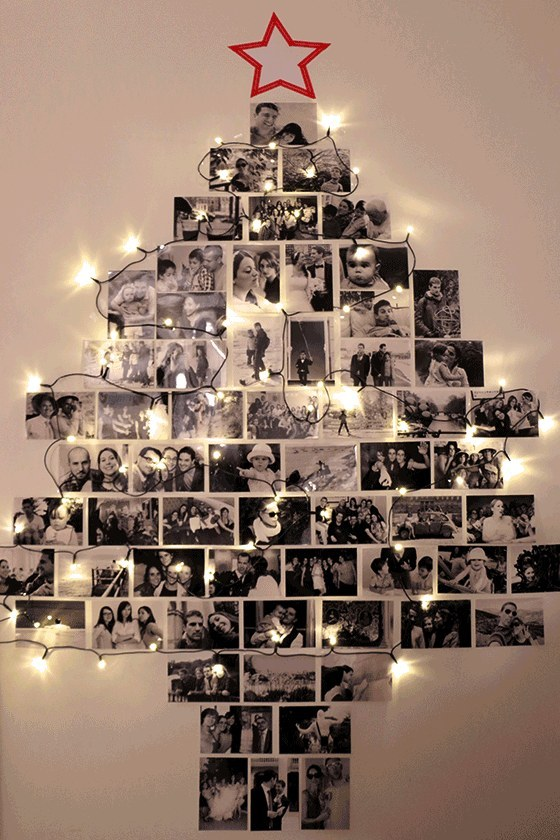 20 Ideas para tomar fotos únicas con luces de navidad 21