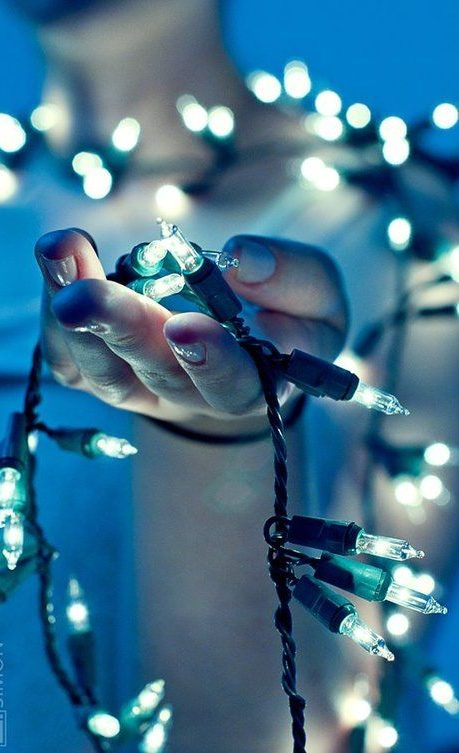 20 Ideas para tomar fotos únicas con luces de navidad 7