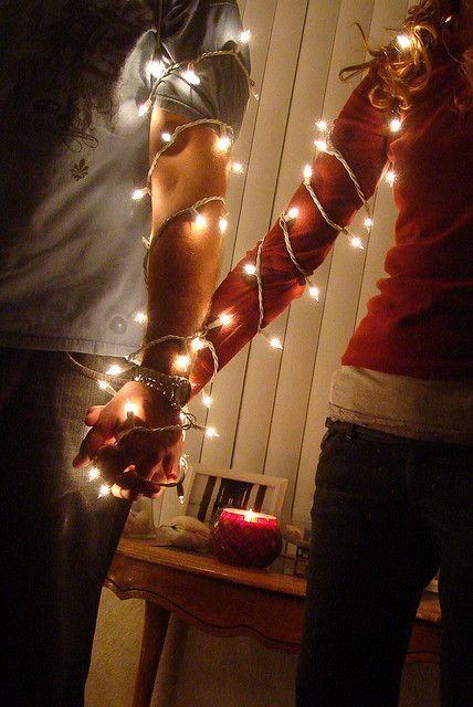 20 Ideas para tomar fotos únicas con luces de navidad 8