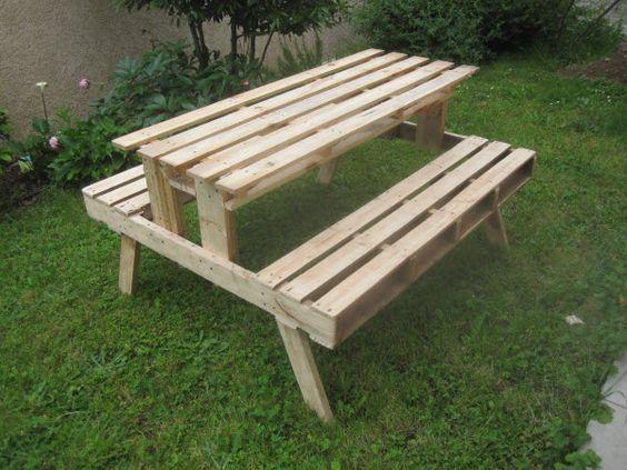 30 Diseños de muebles de palets para tu jardín 9