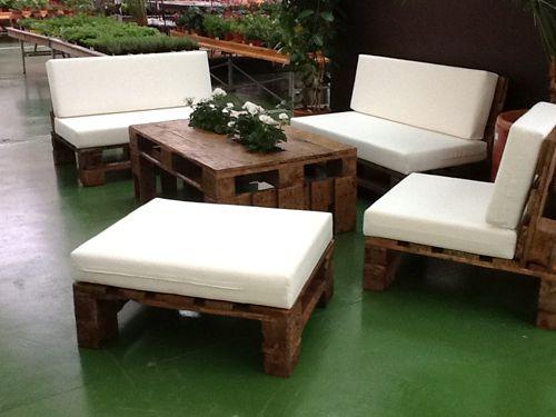 30 Diseños de muebles de palets para tu jardín 3