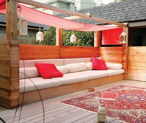 30 Diseños de muebles de palets para tu jardín 6