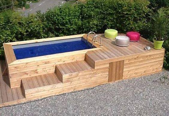 30 Diseños de muebles de palets para tu jardín 27