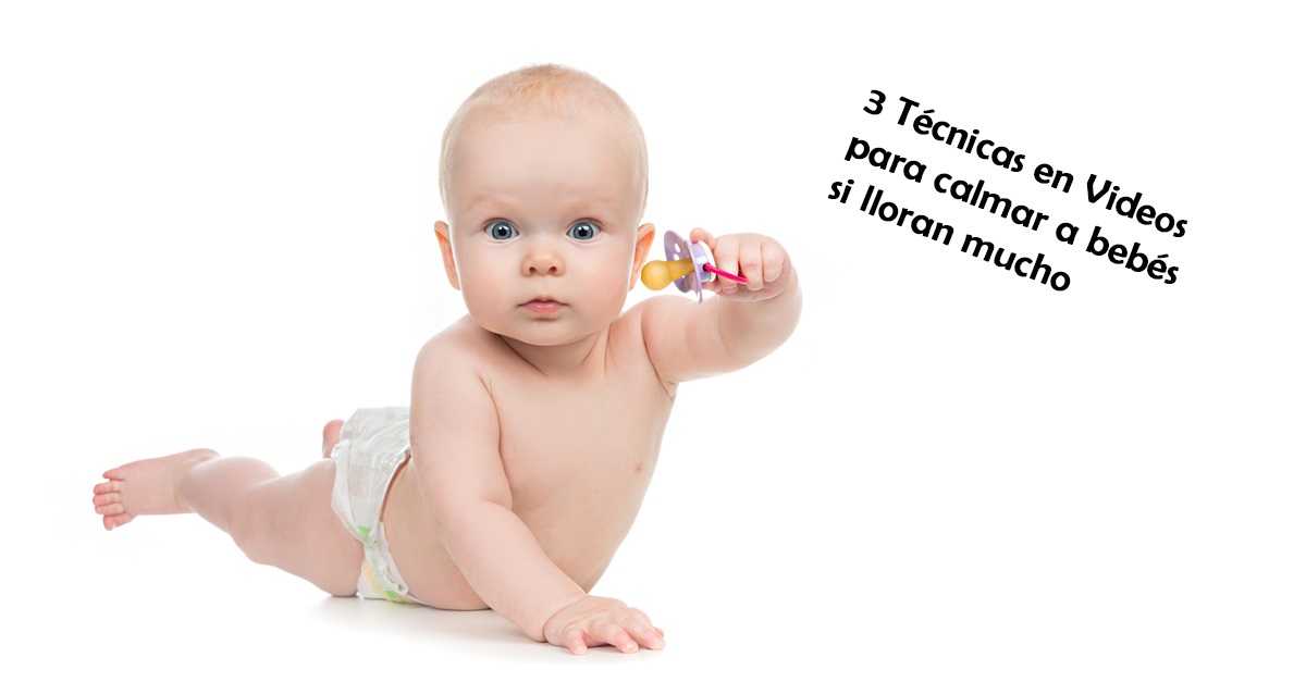3 Técnicas para calmar a un bebé que llora mucho (Videos) 2