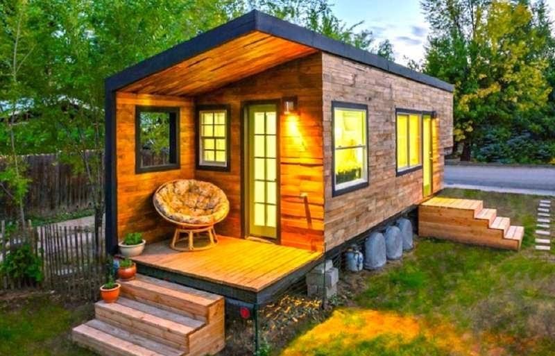 Geniales ideas para hacer Casas de Palets 5