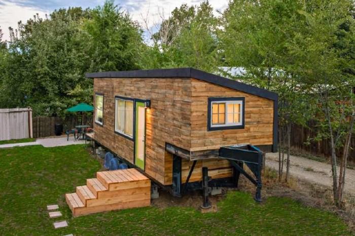 Geniales ideas para hacer Casas de Palets 26
