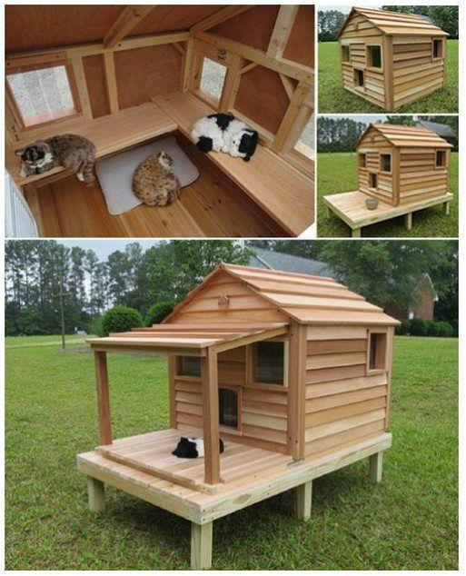 Geniales ideas para hacer casas de palets ideas creativas for Construir casa de perro