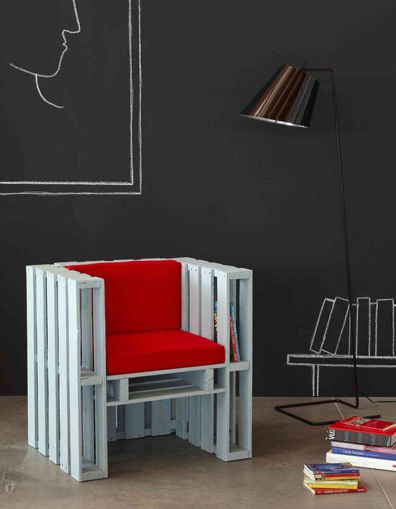 sillones de palets para interiores