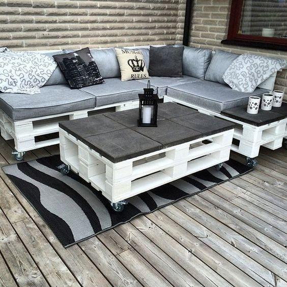 30 ideas de sillones y sof s de palets muy originales for Mobilia instagram