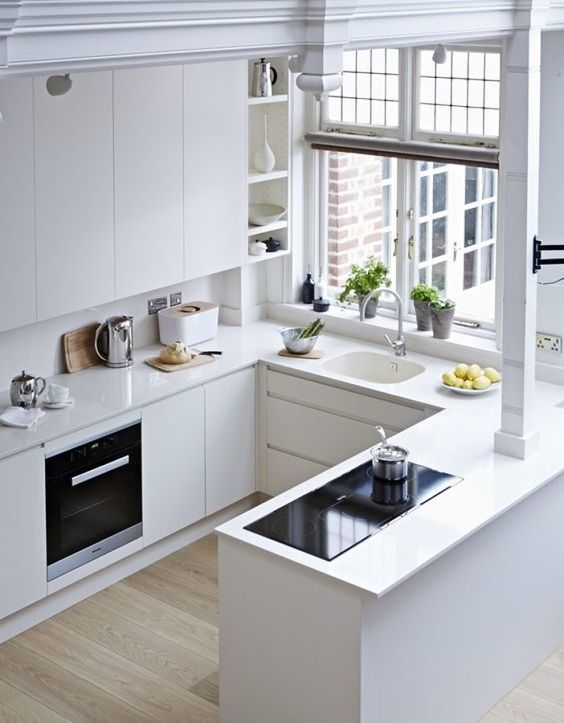 Consejos para tener muebles de cocina a medida ideas for Distribucion muebles cocina