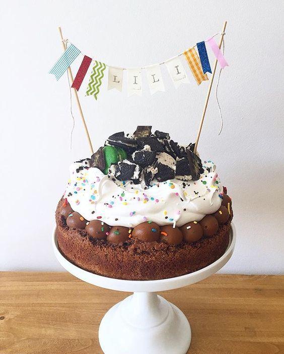 Excelentes ideas de centros de mesa con dulces 25