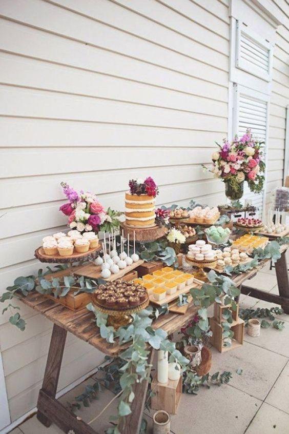 Excelentes ideas de centros de mesa con dulces 7