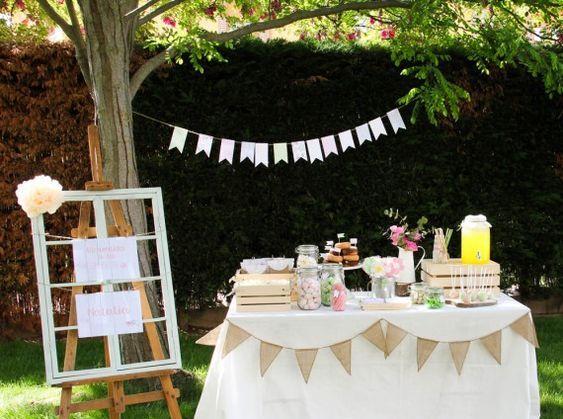 Excelentes ideas de centros de mesa con dulces 8