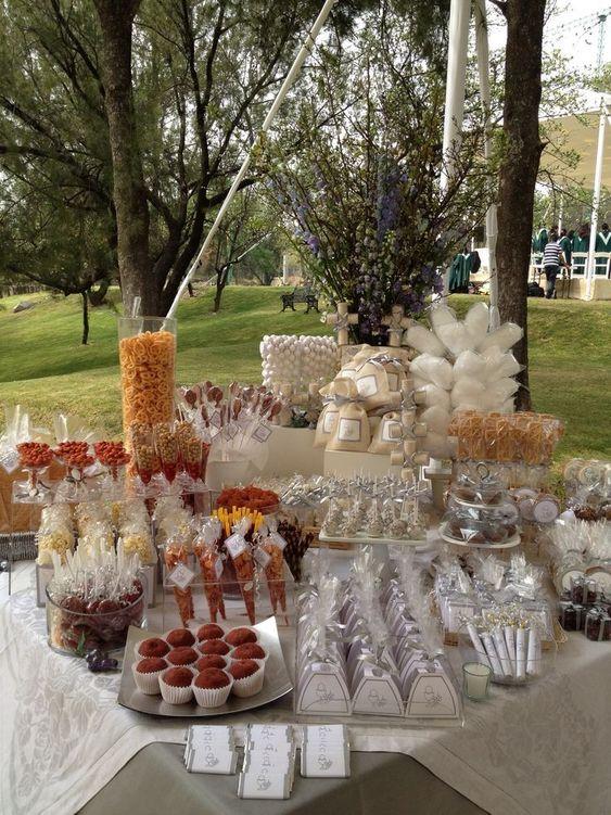 Excelentes ideas de centros de mesa con dulces 9