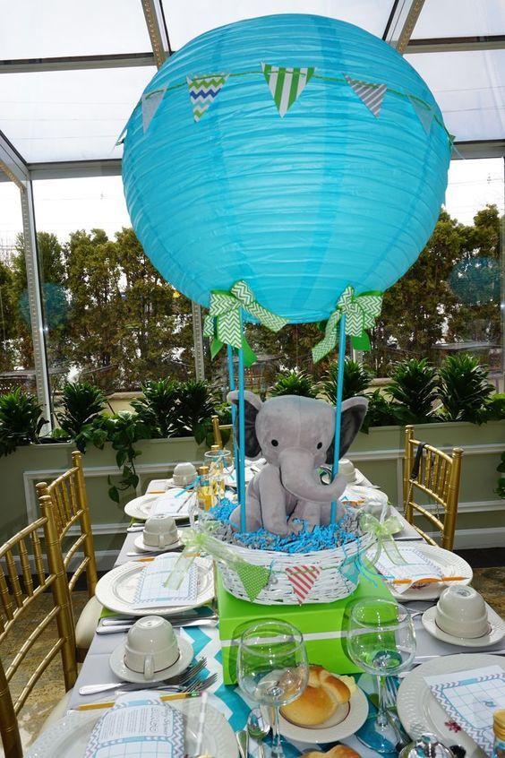 Centros de mesa con globos,  económicos y elegantes 13