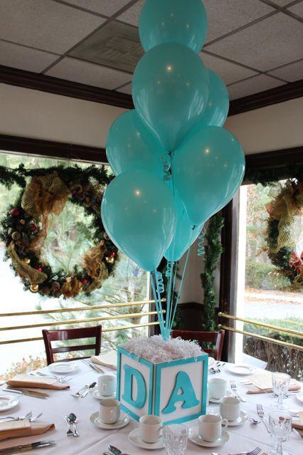 Centros de mesa con globos,  económicos y elegantes 25