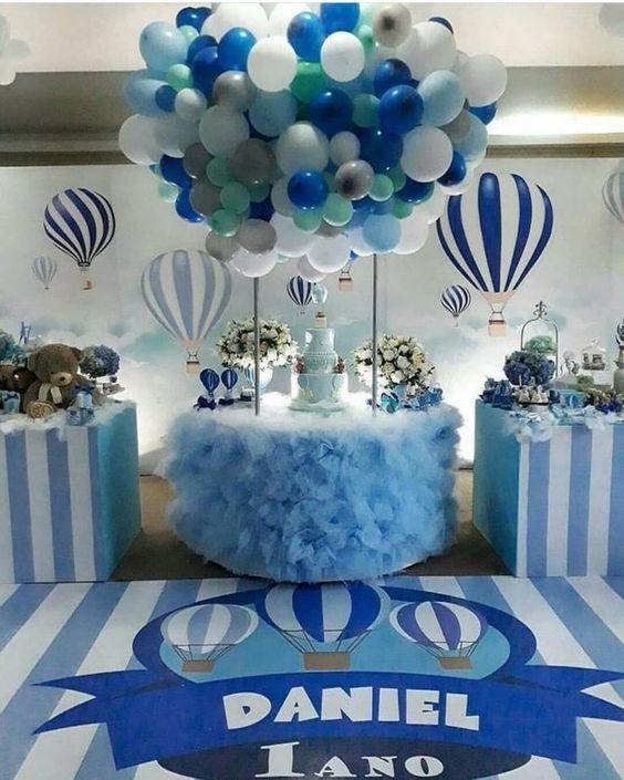 Centros de mesa con globos,  económicos y elegantes 28