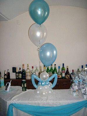 Centros de mesa con globos,  económicos y elegantes 29
