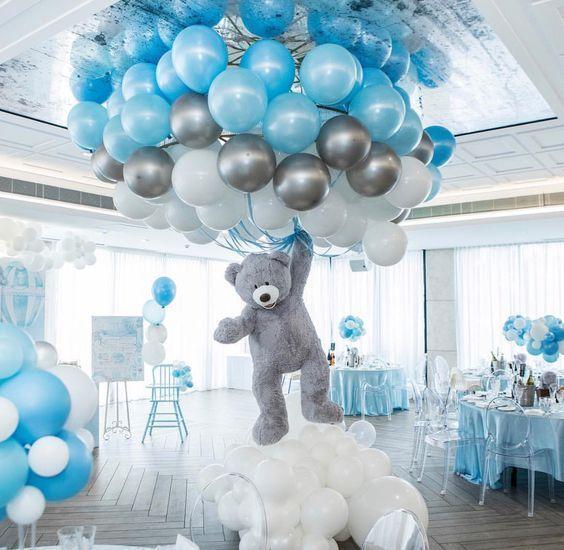 Centros de mesa con globos,  económicos y elegantes 30