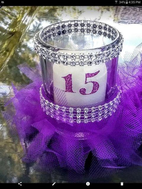 34 Centros de mesa con frascos para embellecer  tu fiesta 16