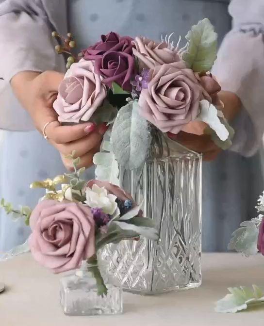 Centros de mesa con flores. Elegantes y exclusivos 3