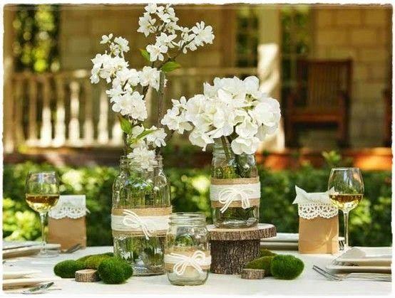 Centros de mesa con flores. Elegantes y exclusivos 14