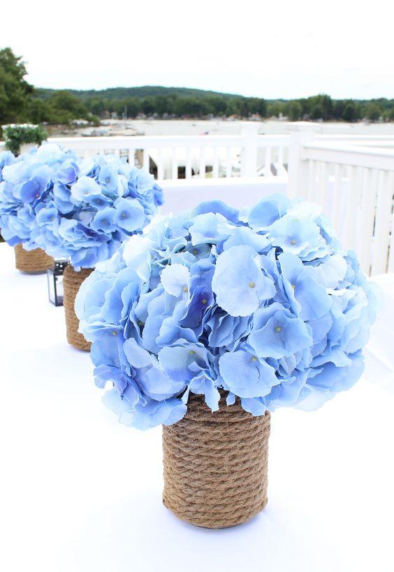 Centros de mesa con flores. Elegantes y exclusivos 15