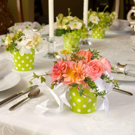 Centros de mesa con flores. Elegantes y exclusivos 16