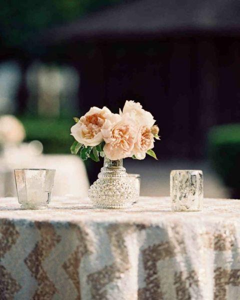 +25 Centros de Mesa con flores naturales que todos podemos hacer 2
