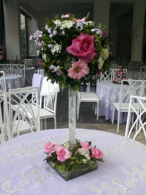 +25 Centros de Mesa con flores naturales que todos podemos hacer 5