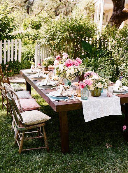 +25 Centros de Mesa con flores naturales que todos podemos hacer 8
