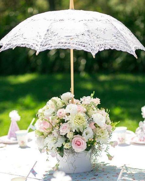 +25 Centros de Mesa con flores naturales que todos podemos hacer 12