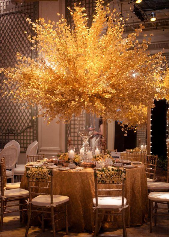 Centros de mesa con flores. Elegantes y exclusivos 7