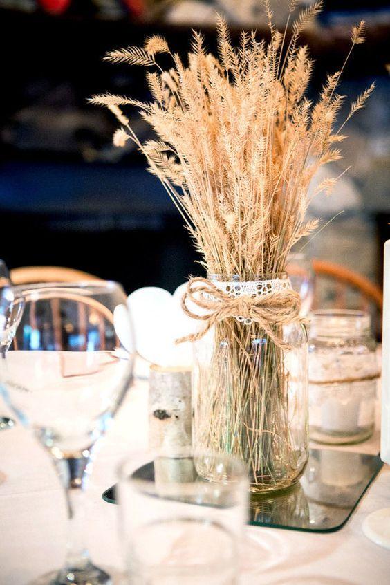 Centros de mesa con flores. Elegantes y exclusivos 8