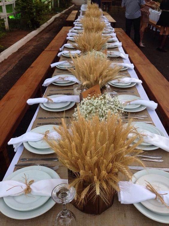 Centros de mesa con flores. Elegantes y exclusivos 10