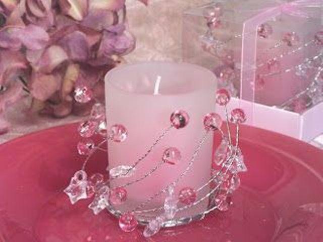 Centros de mesa con velas. Pura sencillez y elegancia 22