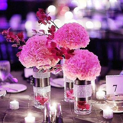 Centros de mesa con velas. Pura sencillez y elegancia 26